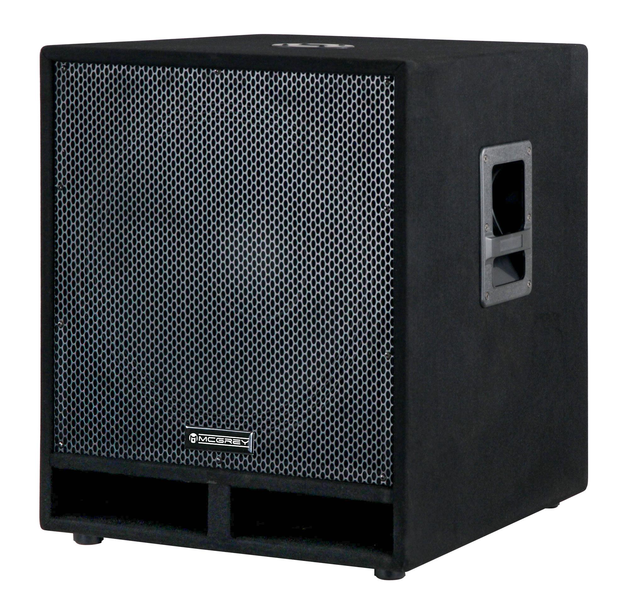 McGrey PAS 118 18' passiver PA Subwoofer Bass Lautsprecher Box 1800 Watt Retoure (Zustand sehr gut)