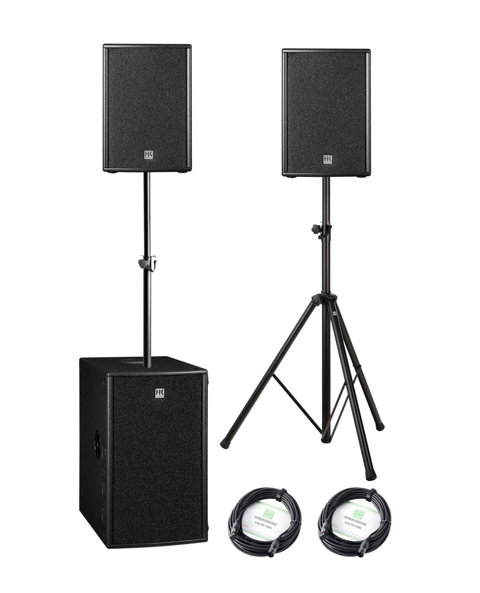 HK Audio PR O 10 XD | 210 Sub A Stereo Bundle