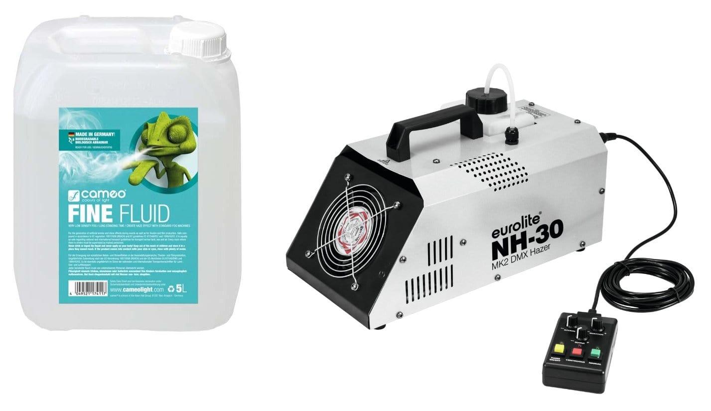 Eurolite NH 30 MK2 DMX Dunstnebelmaschine mit 5L Nebelfluid