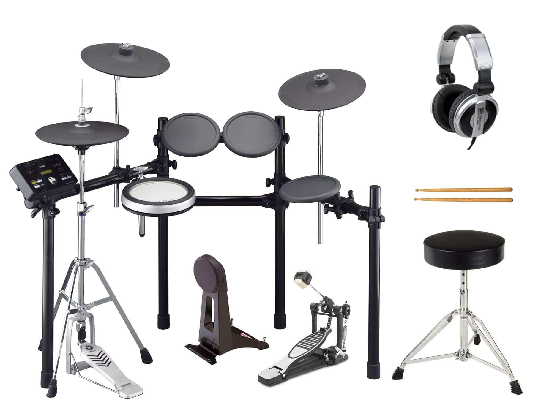 Yamaha DTX532K Compact E Drum Set Komplettset 1 Hocker, Sticks, Kopfhörer