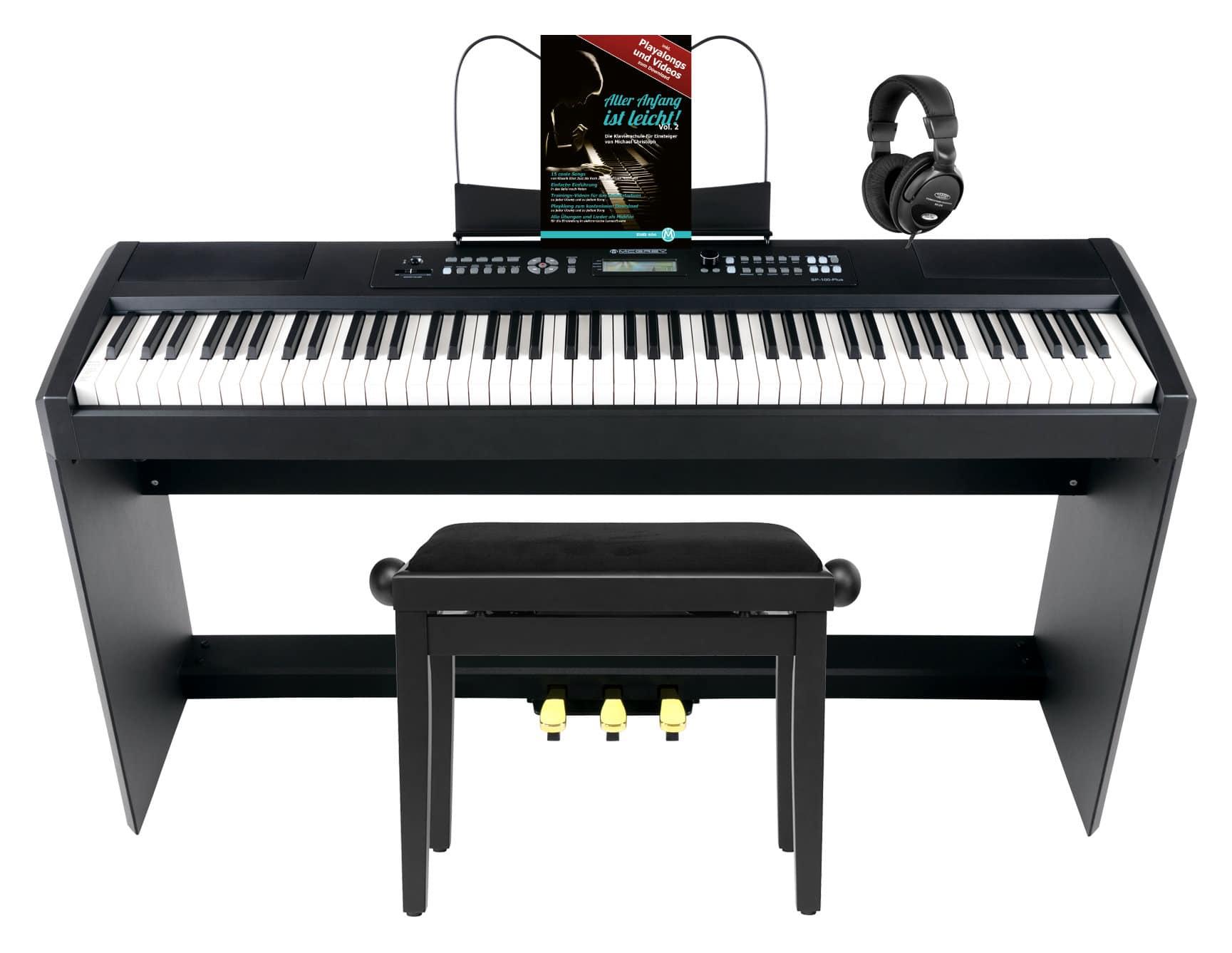 Stagepianos - McGrey SP 100 Plus Stagepiano Home Set - Onlineshop Musikhaus Kirstein