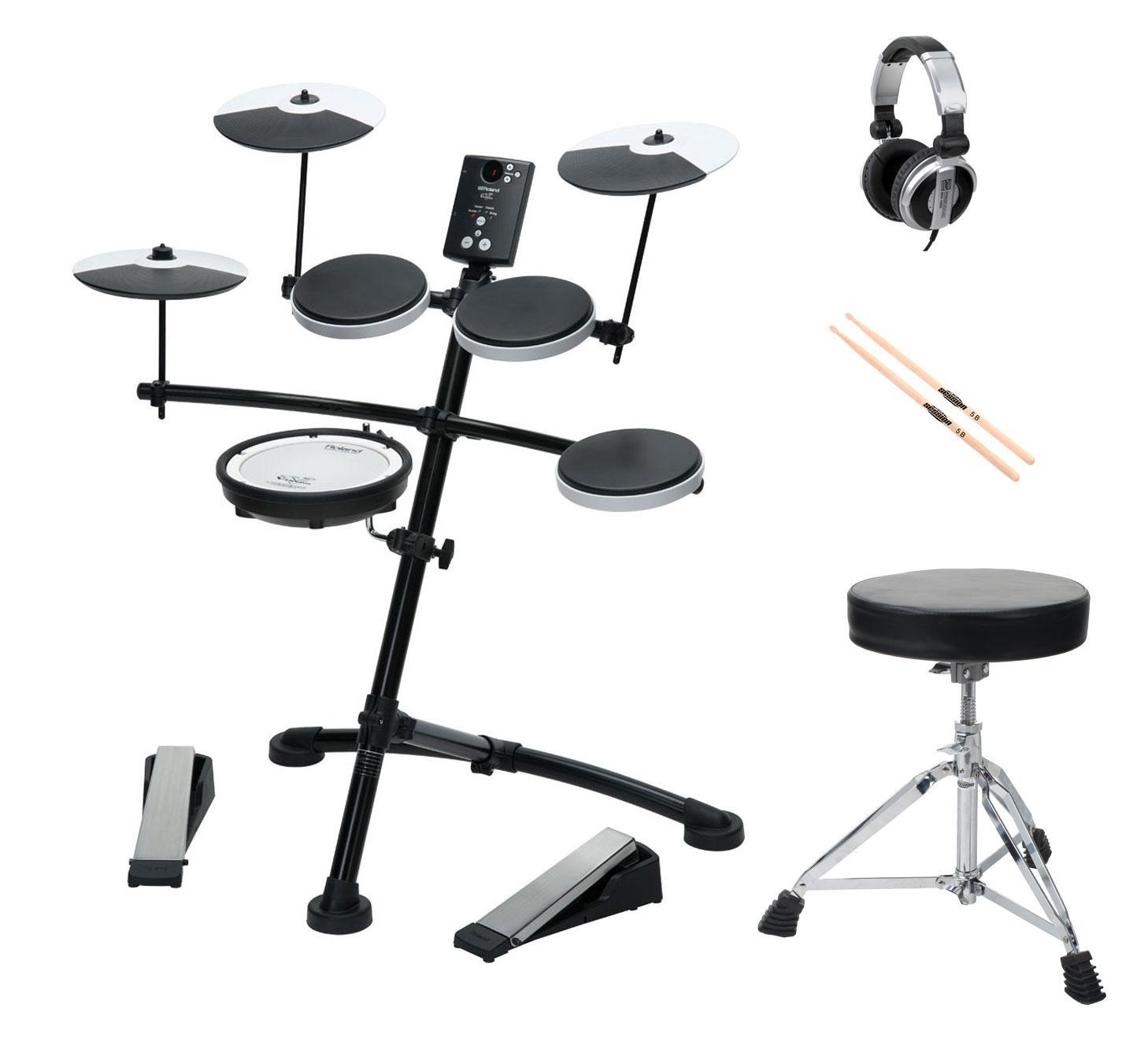 Roland TD 1KV Drumkit SET inkl. Hocker, Sticks und Kopfhörer