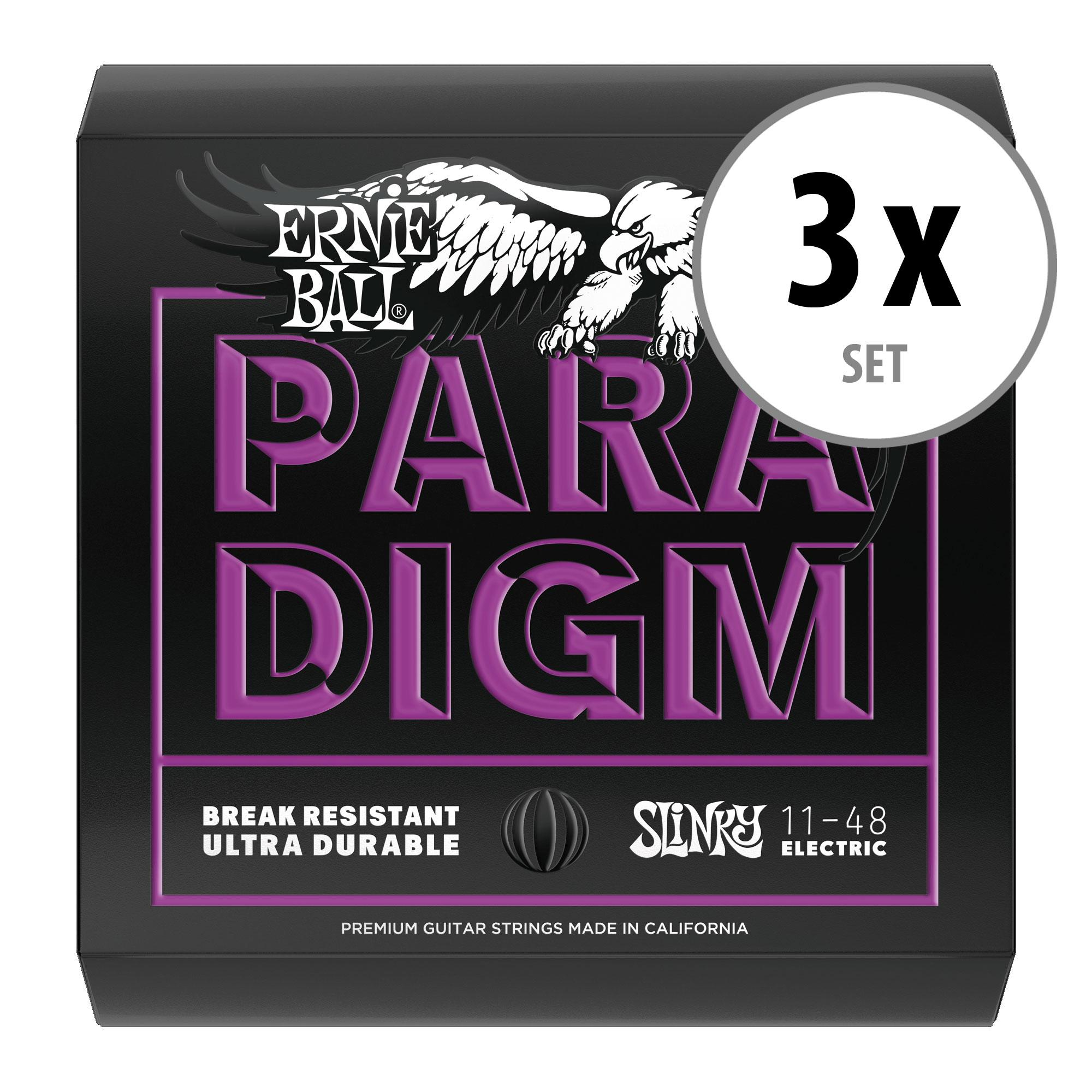 3er Set Ernie Ball 2020 Paradigm Power Slinky