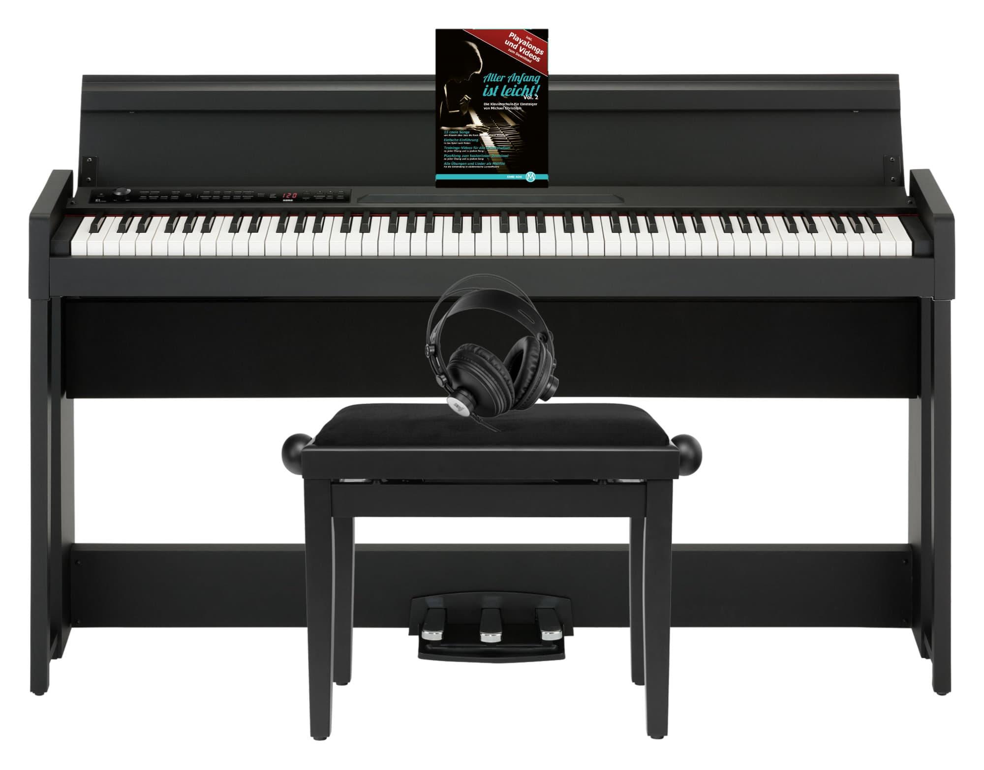 Korg C1 Air Digital Piano BK Home Set