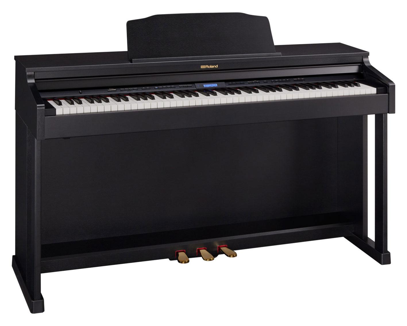 Roland HP601 CB Digital Piano Schwarz matt