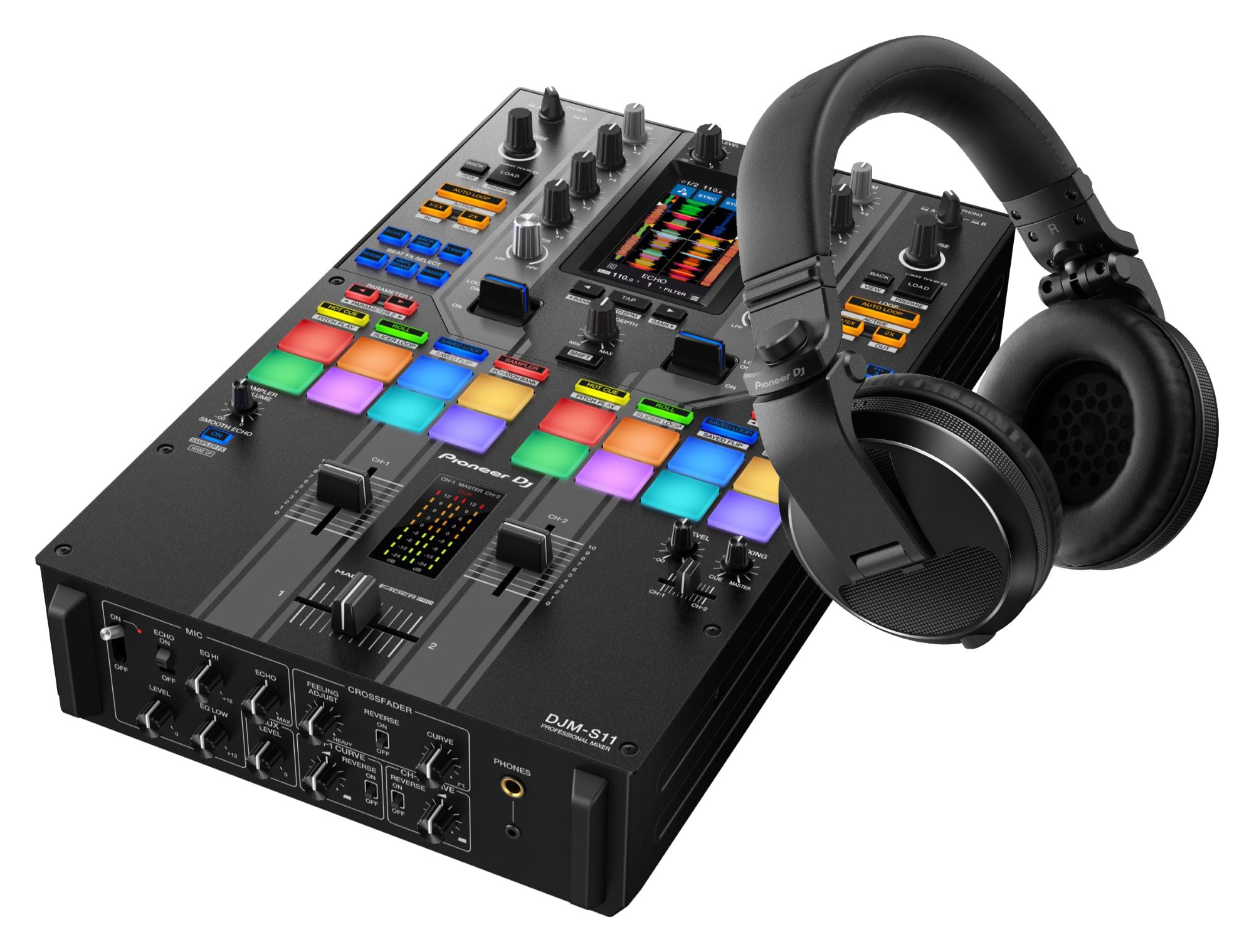 Djmixer - Pioneer DJ DJM S11 SE HDJ X5 K Schwarz SET - Onlineshop Musikhaus Kirstein