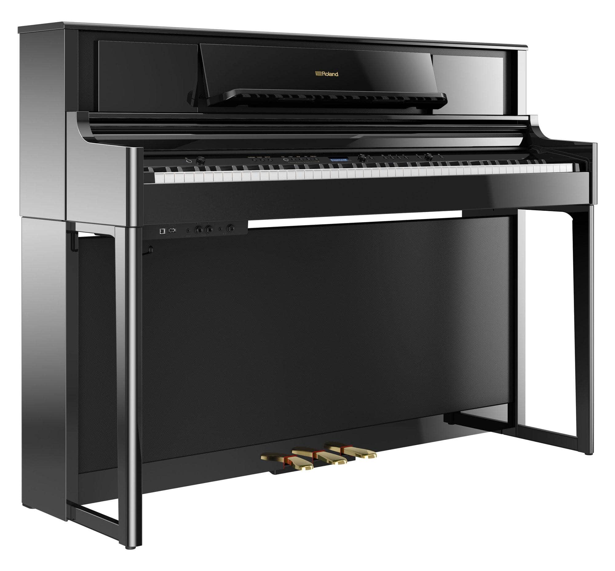 Roland LX705 PE Digitalpiano Schwarz Hochglanz