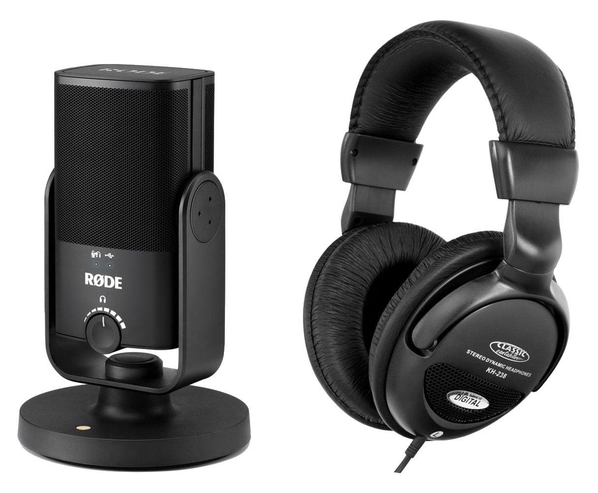 Mikrofone - Rode NT USB Mini Studiomikrofon Set - Onlineshop Musikhaus Kirstein