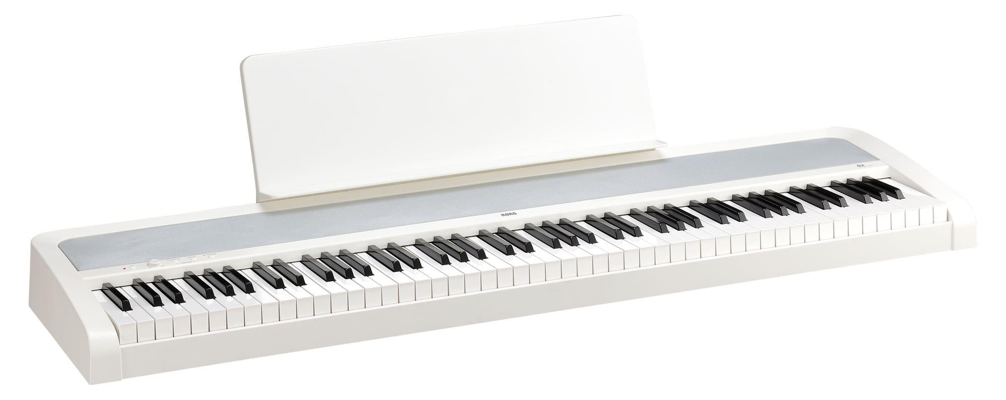 Stagepianos - Korg B2 WH Digitalpiano Weiß - Onlineshop Musikhaus Kirstein