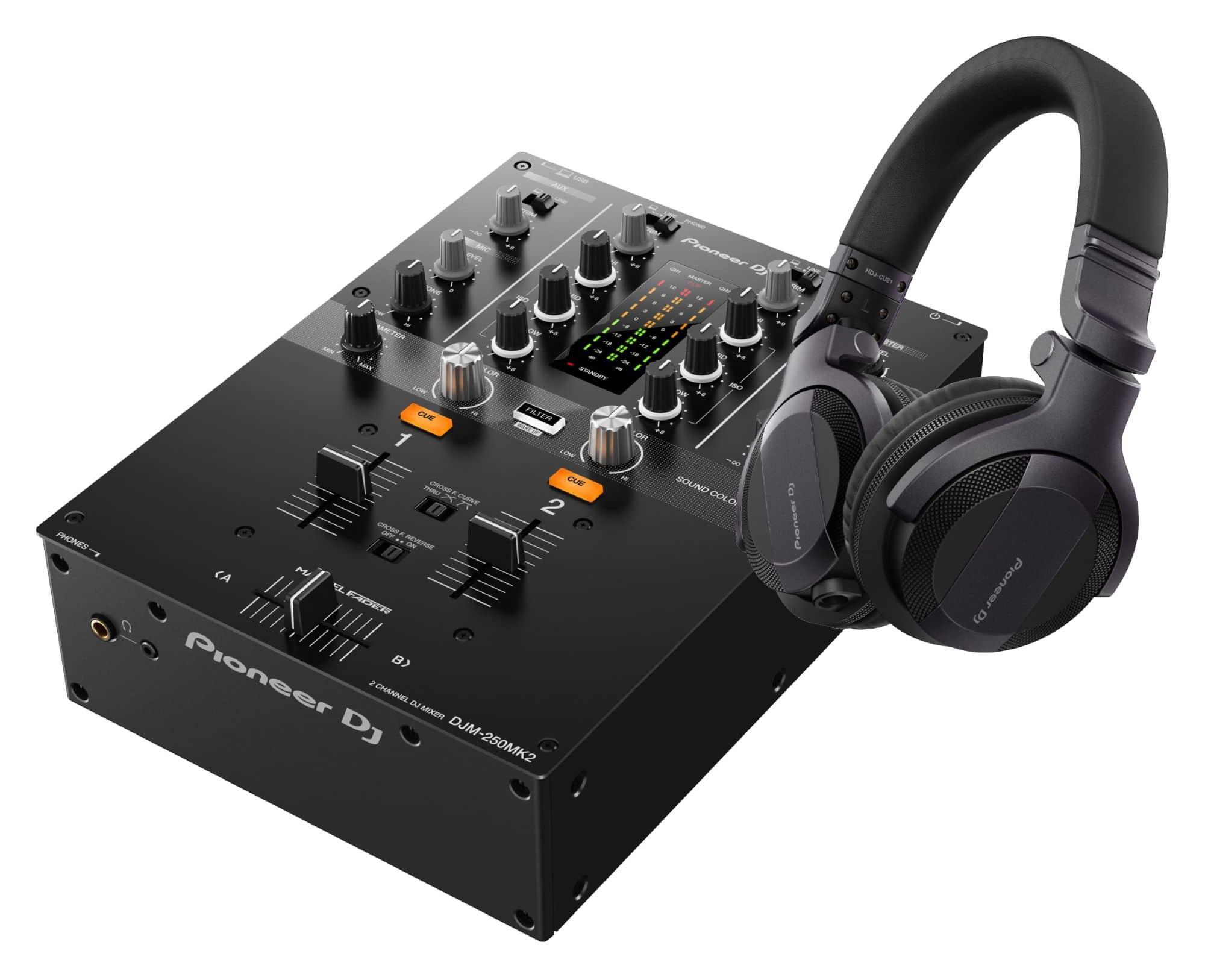 Djmixer - Pioneer DJ DJM 250MK2 HDJ CUE1 SET - Onlineshop Musikhaus Kirstein