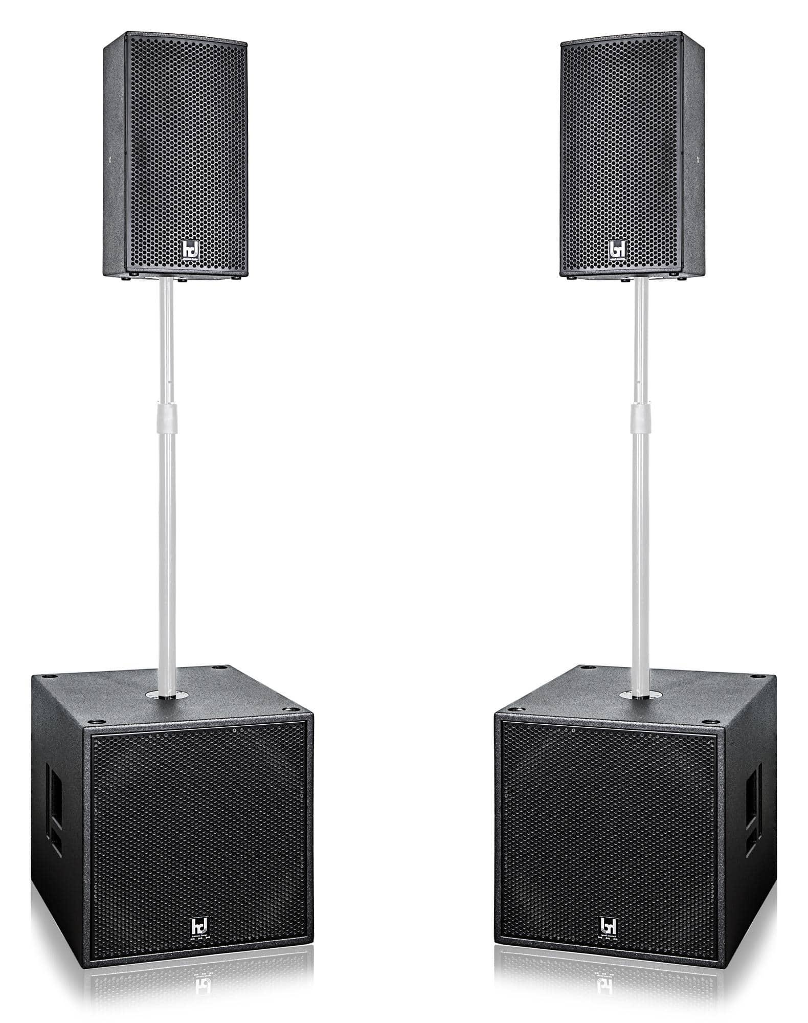 Harmonic Design MP10 P18 PA1 Multi DSP Aktivsystem
