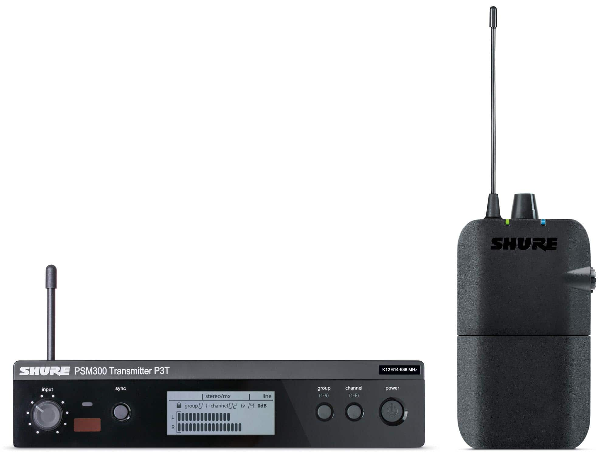 Drahtlossysteme - Shure PSM 300 S8 In Ear Monitoring - Onlineshop Musikhaus Kirstein