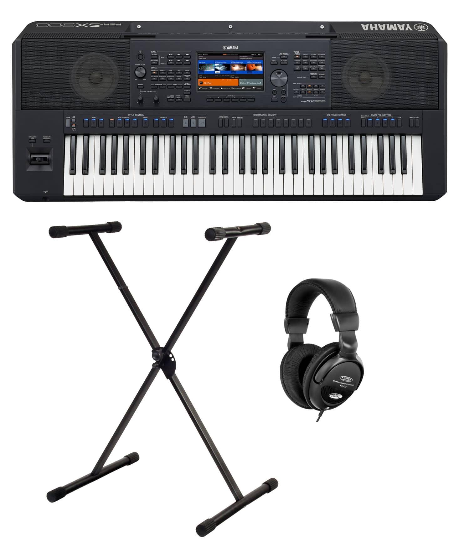 Homekeyboards - Yamaha PSR SX900 Keyboard Set - Onlineshop Musikhaus Kirstein