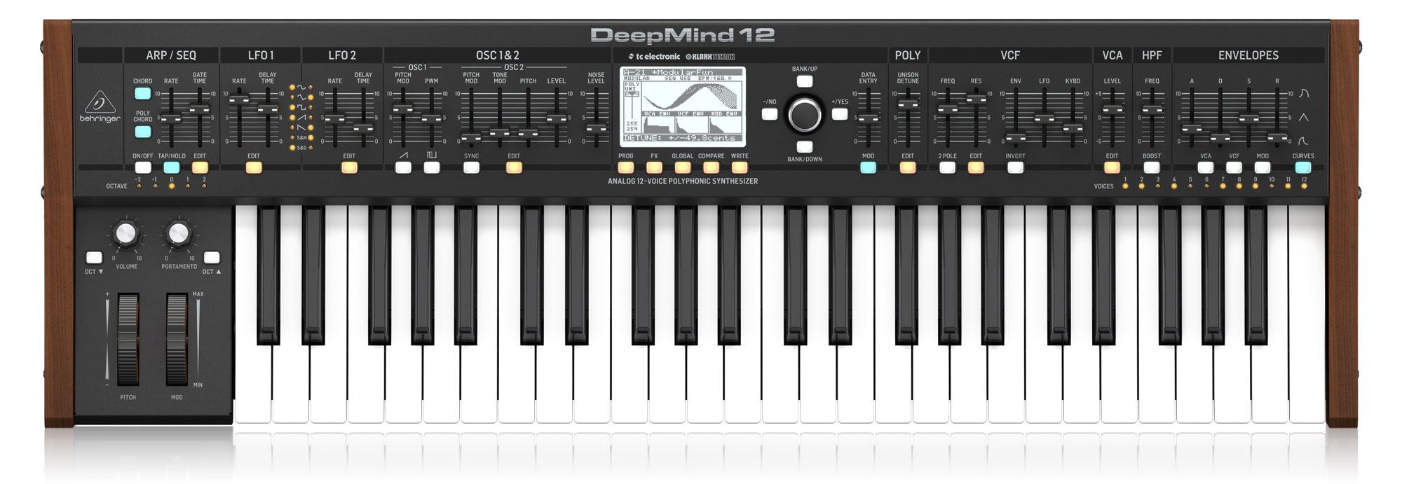 Synthesizer - Behringer DeepMind 12 Analog Synthesizer - Onlineshop Musikhaus Kirstein