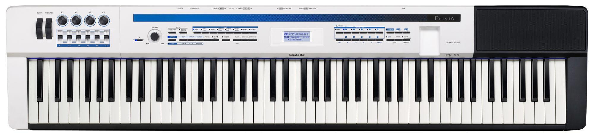 Stagepianos - Casio PX 5S Stagepiano Privia Pro - Onlineshop Musikhaus Kirstein