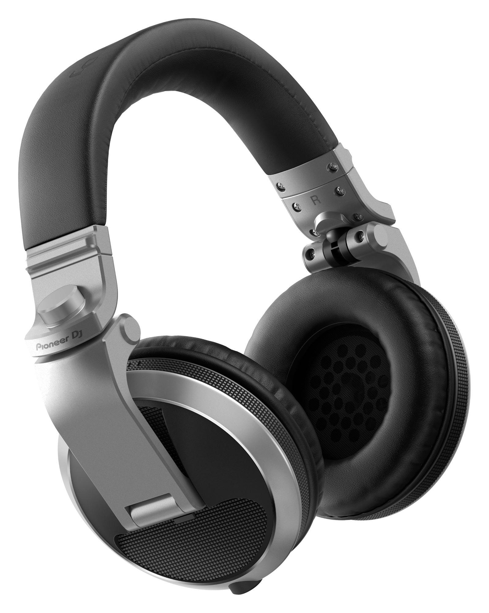 Kopfhoerer - Pioneer DJ HDJ X5 S Silber - Onlineshop Musikhaus Kirstein