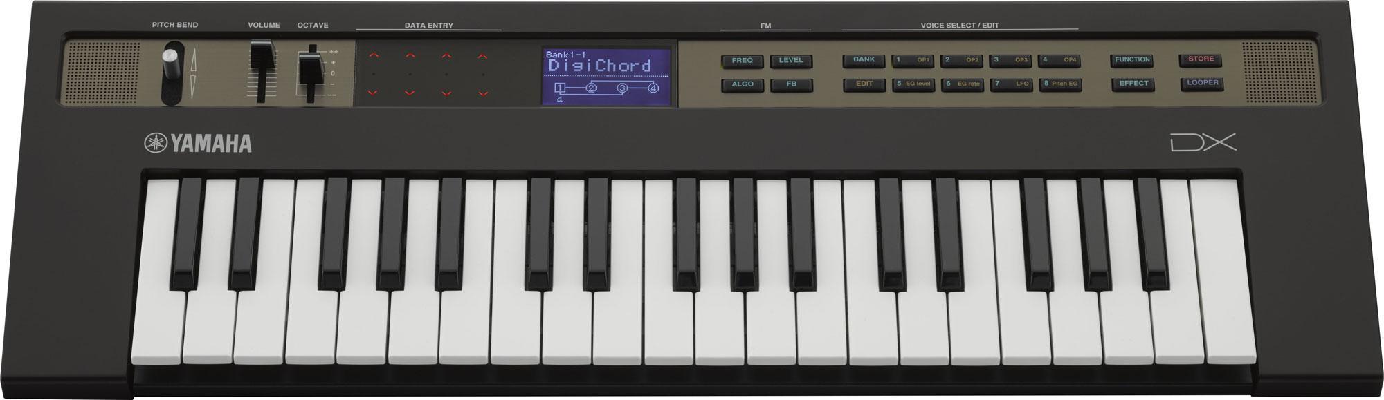 Yamaha Reface DX Synthesizer schwarz