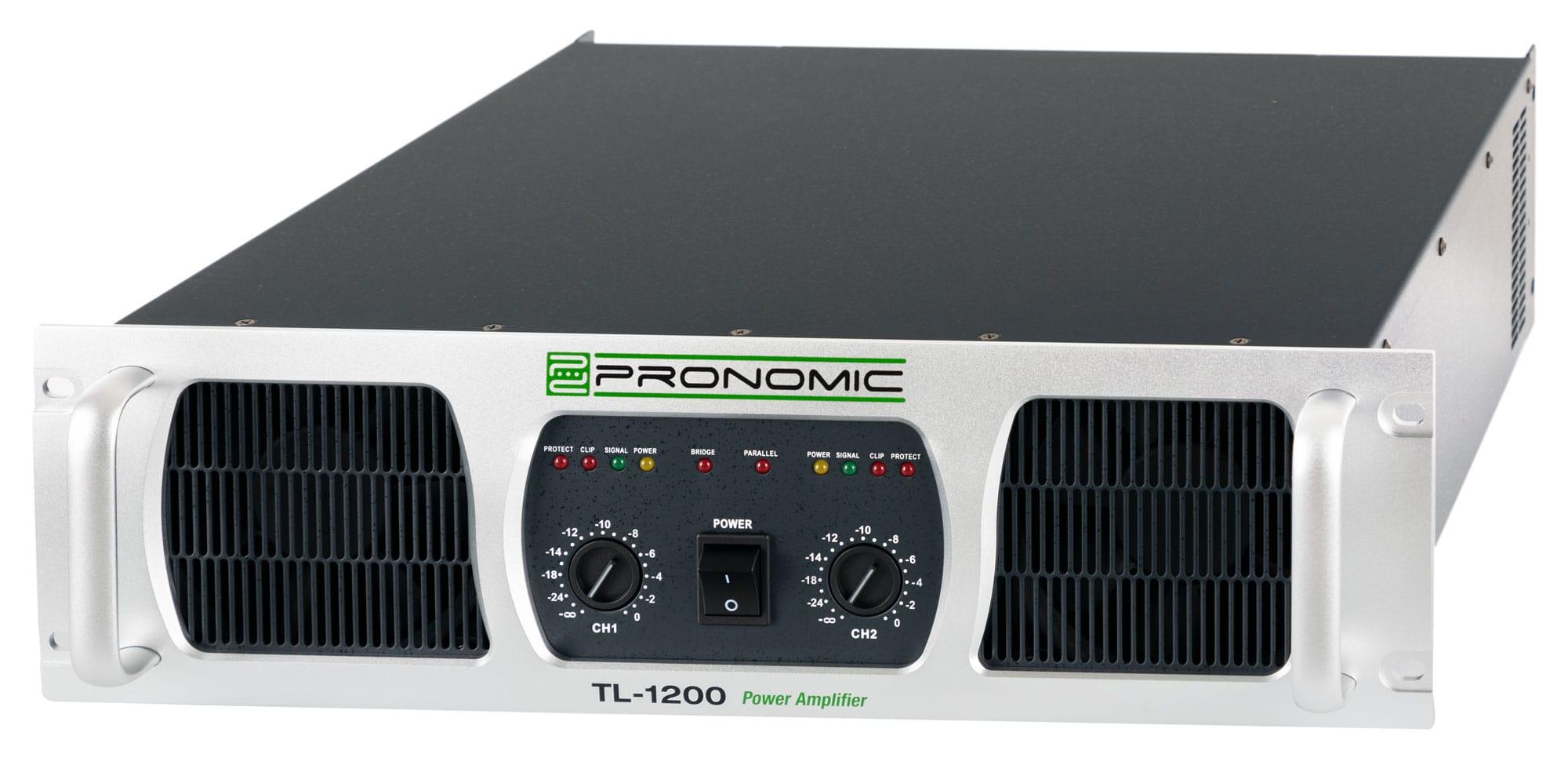 Pronomic TL 1200 Endstufe 2x 2400 Watt Retoure (Zustand gut)