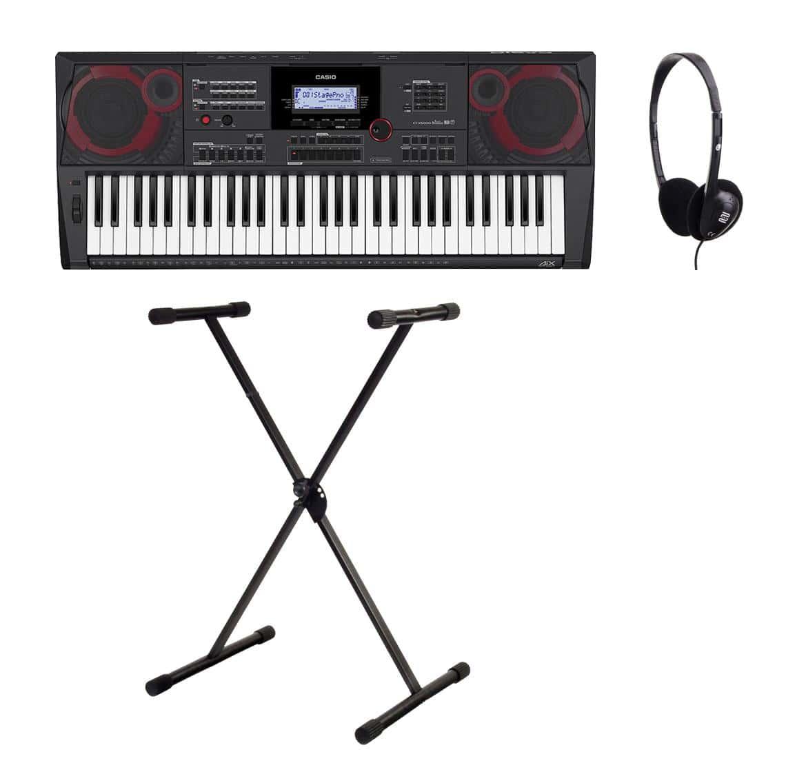 Casio CT X5000 Midi Keyboard Set inkl. Keyboardständer Kopfhörer