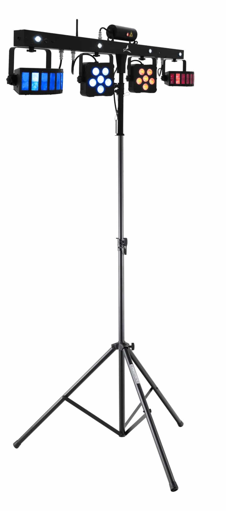Lichtsets - Eurolite LED KLS Laser Bar Pro FX Lichtset mit Stativ - Onlineshop Musikhaus Kirstein