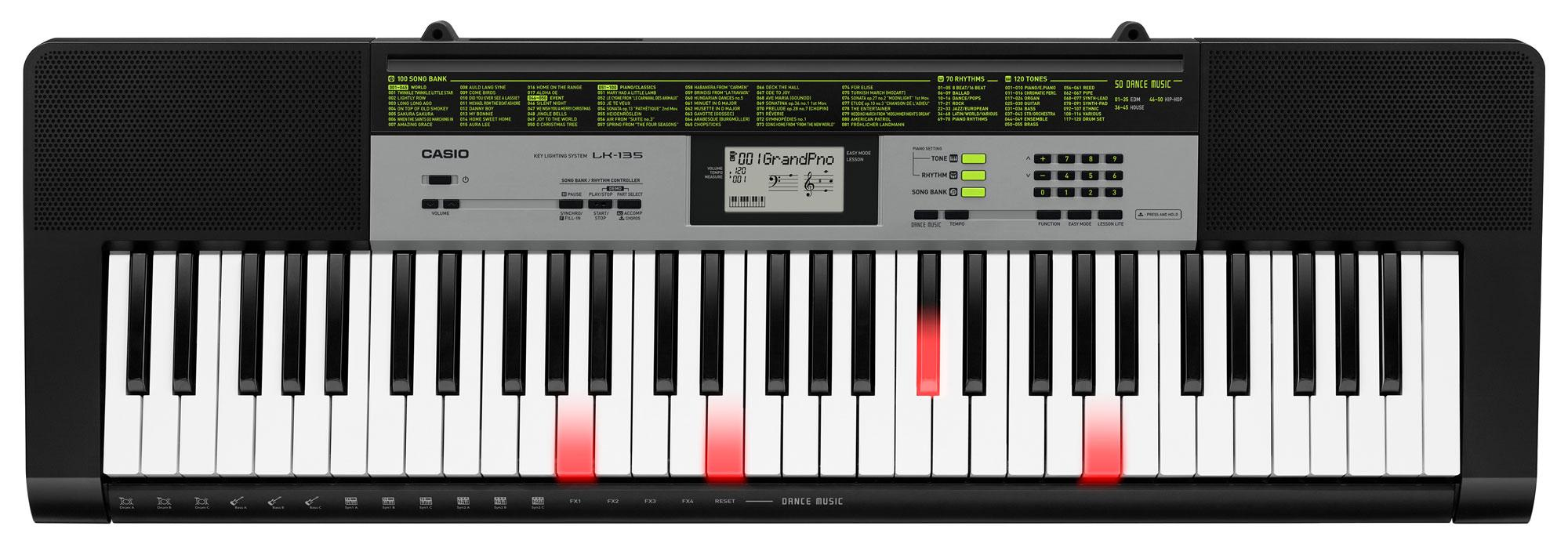Casio LK 135 Leuchttasten Keyboard