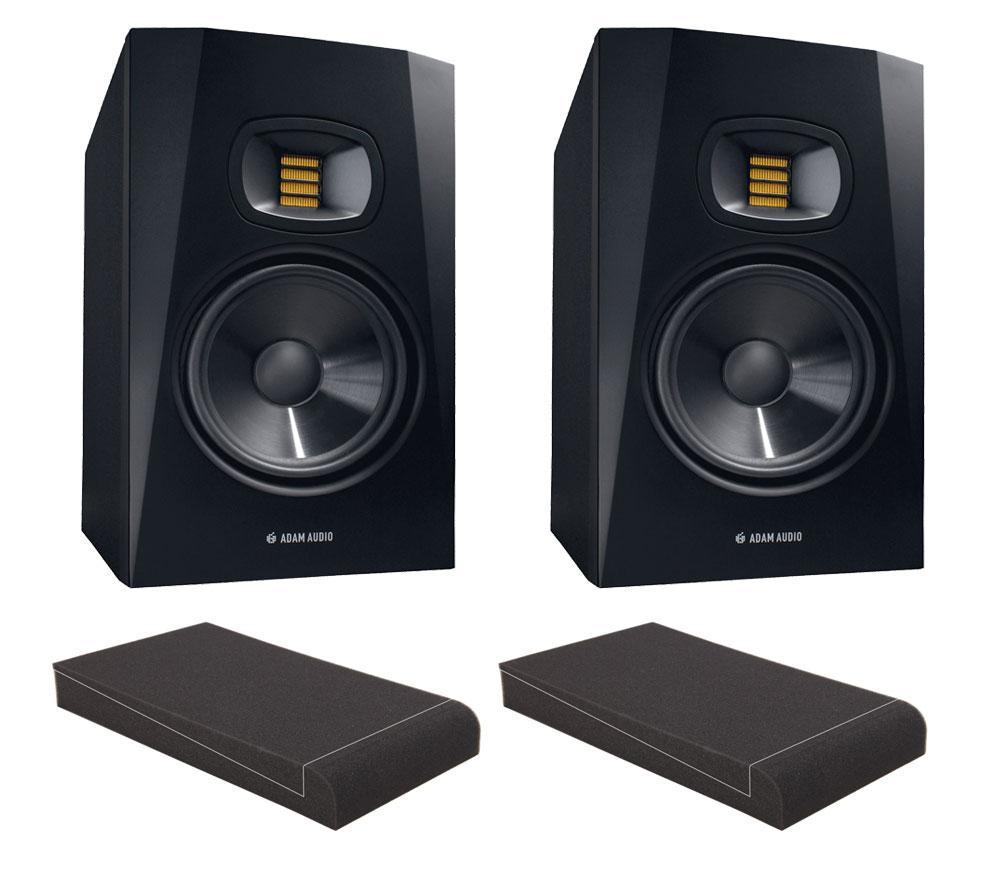 Studiomonitore - Adam Audio T7V Set mit 7' Absorberplatten - Onlineshop Musikhaus Kirstein