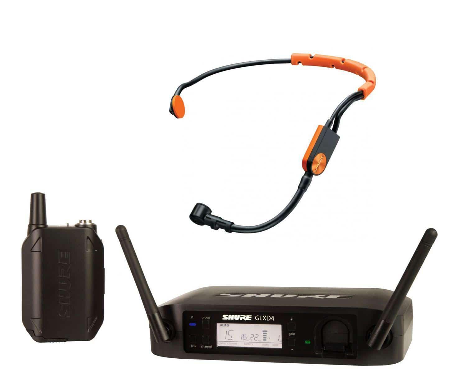 Drahtlossysteme - Shure GLXD14|SM31 Headset Funksystem - Onlineshop Musikhaus Kirstein