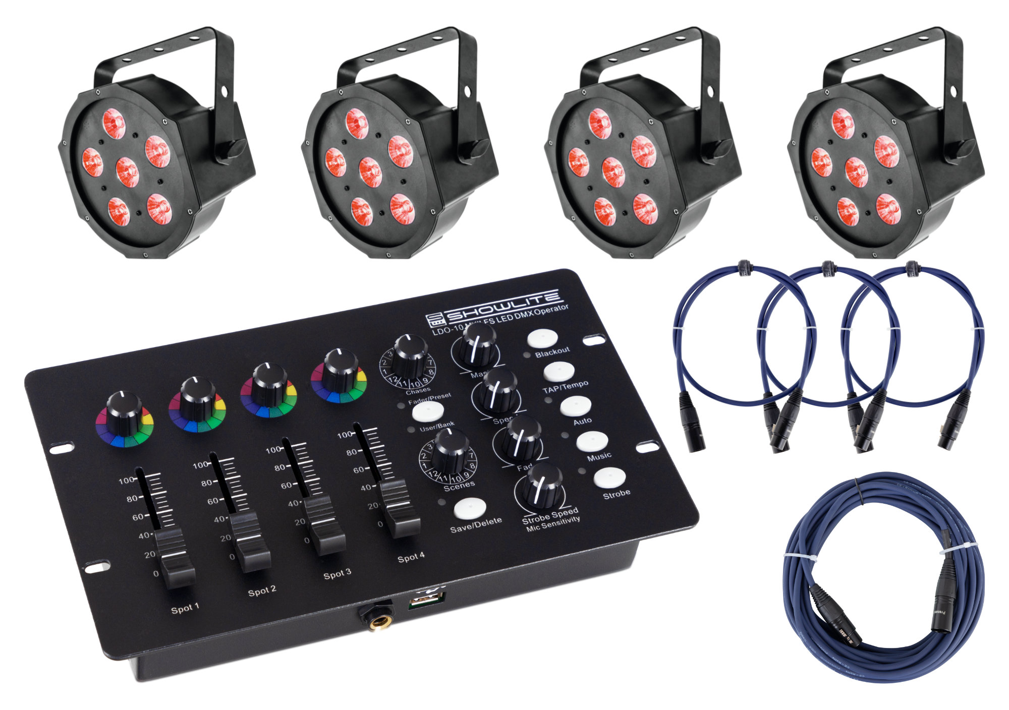 Lichtsets - Eurolite LED SLS 6 TCL Spot Controller Set - Onlineshop Musikhaus Kirstein