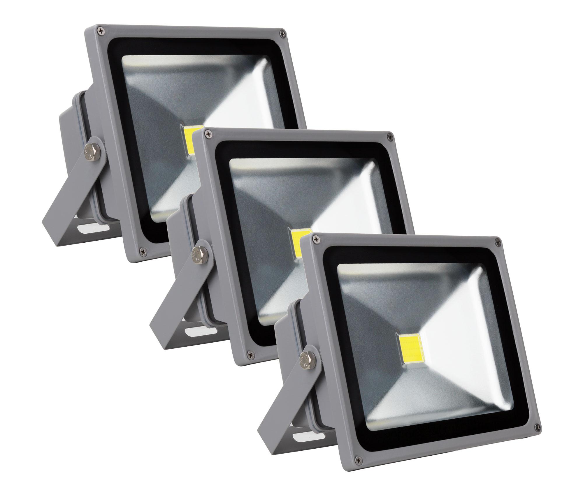 showlite fl 2030 led fluter ip65 30 watt 3300 lumen 3er set. Black Bedroom Furniture Sets. Home Design Ideas