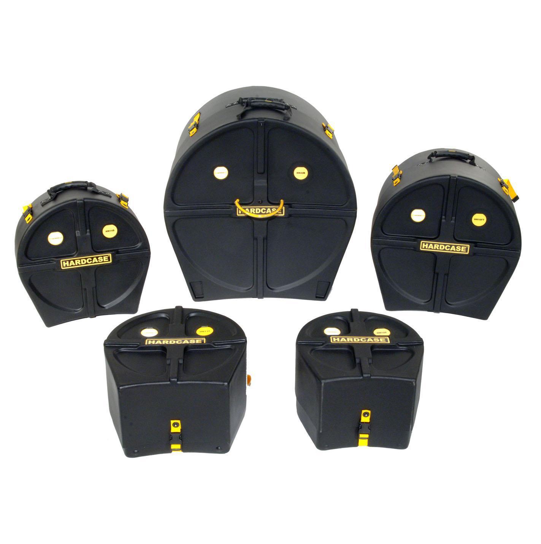 Hardcase HSTANDARD Drumset Case Set 22', 12', 13', 16' 14'