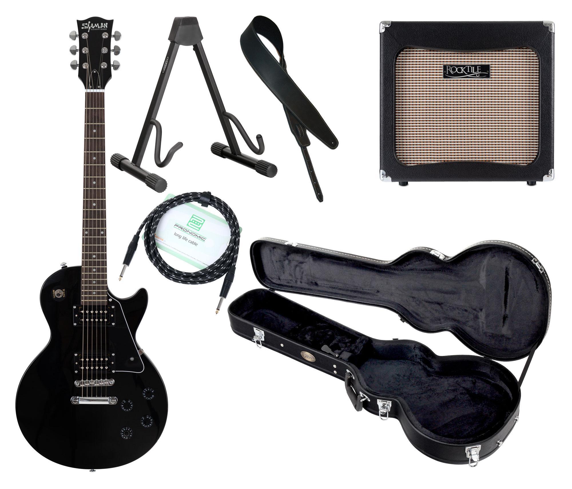 Egitarren - Shaman Element Series SCX 100B Komplett Set - Onlineshop Musikhaus Kirstein