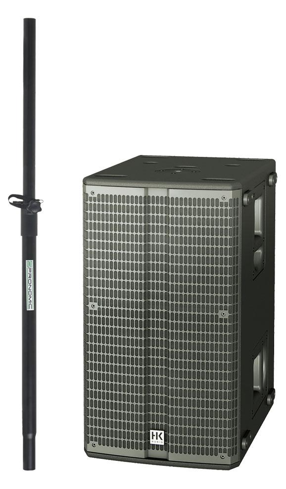 Pasubwoofer - HK Audio Linear L SUB 1200 A Set inkl. Distanzstange - Onlineshop Musikhaus Kirstein
