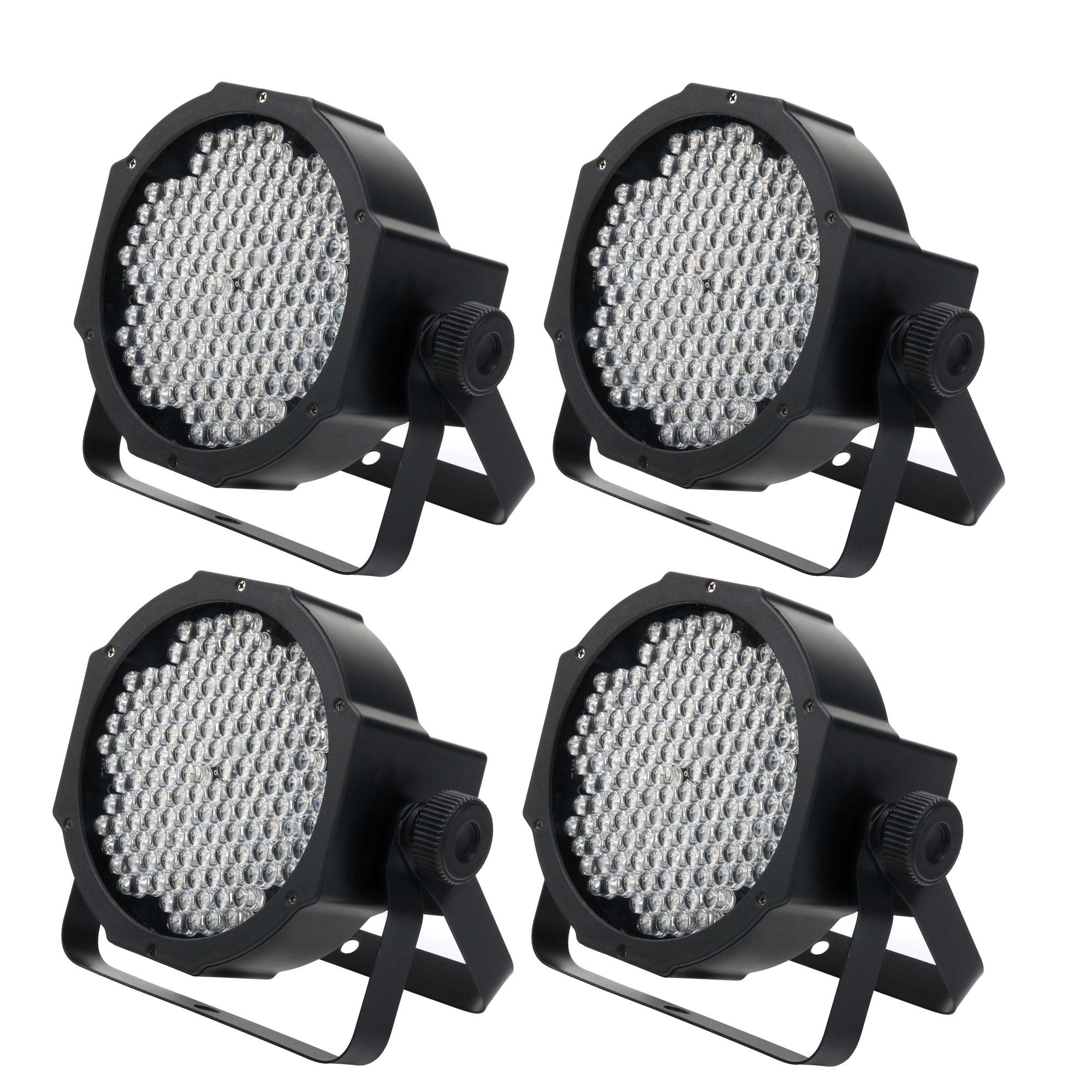 Lichtsets - Showlite FLP 144W RGBW Flatline Panel LED, 144x 10 mm 4er SET - Onlineshop Musikhaus Kirstein