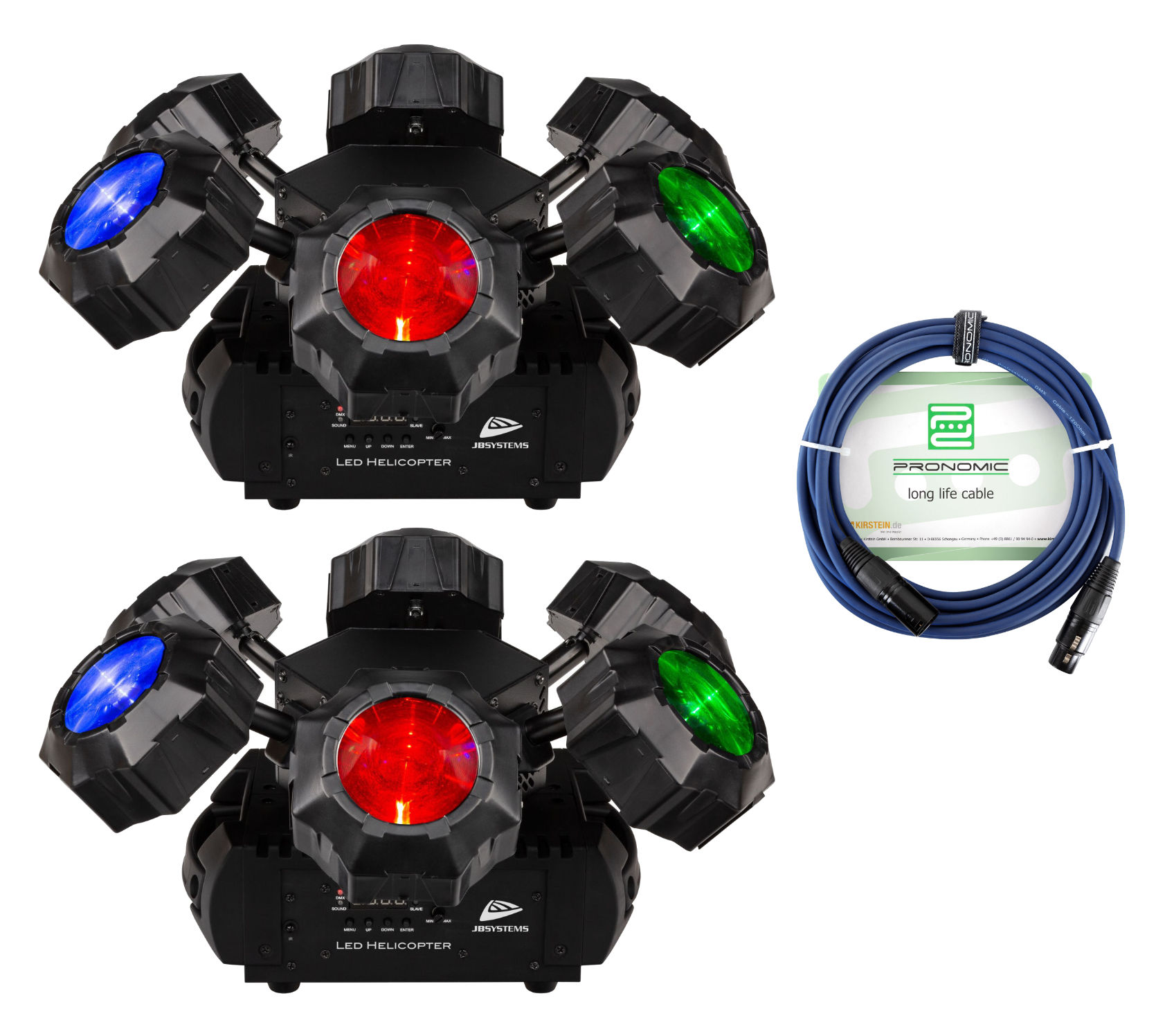 Lichteffekte - JB Systems LED Helicopter Set - Onlineshop Musikhaus Kirstein