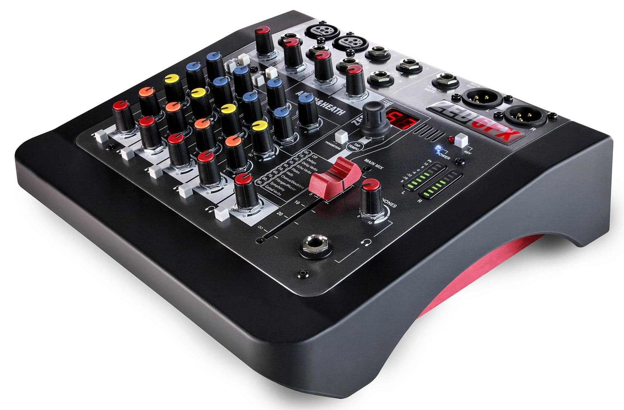 Mischpulte - Allen Heath ZED 6FX Kompakter Analogmixer - Onlineshop Musikhaus Kirstein