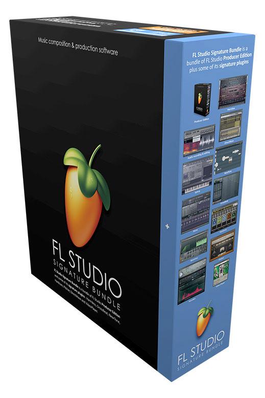 Studiosoftware - Image Line FL Studio 20 Signature Bundle - Onlineshop Musikhaus Kirstein