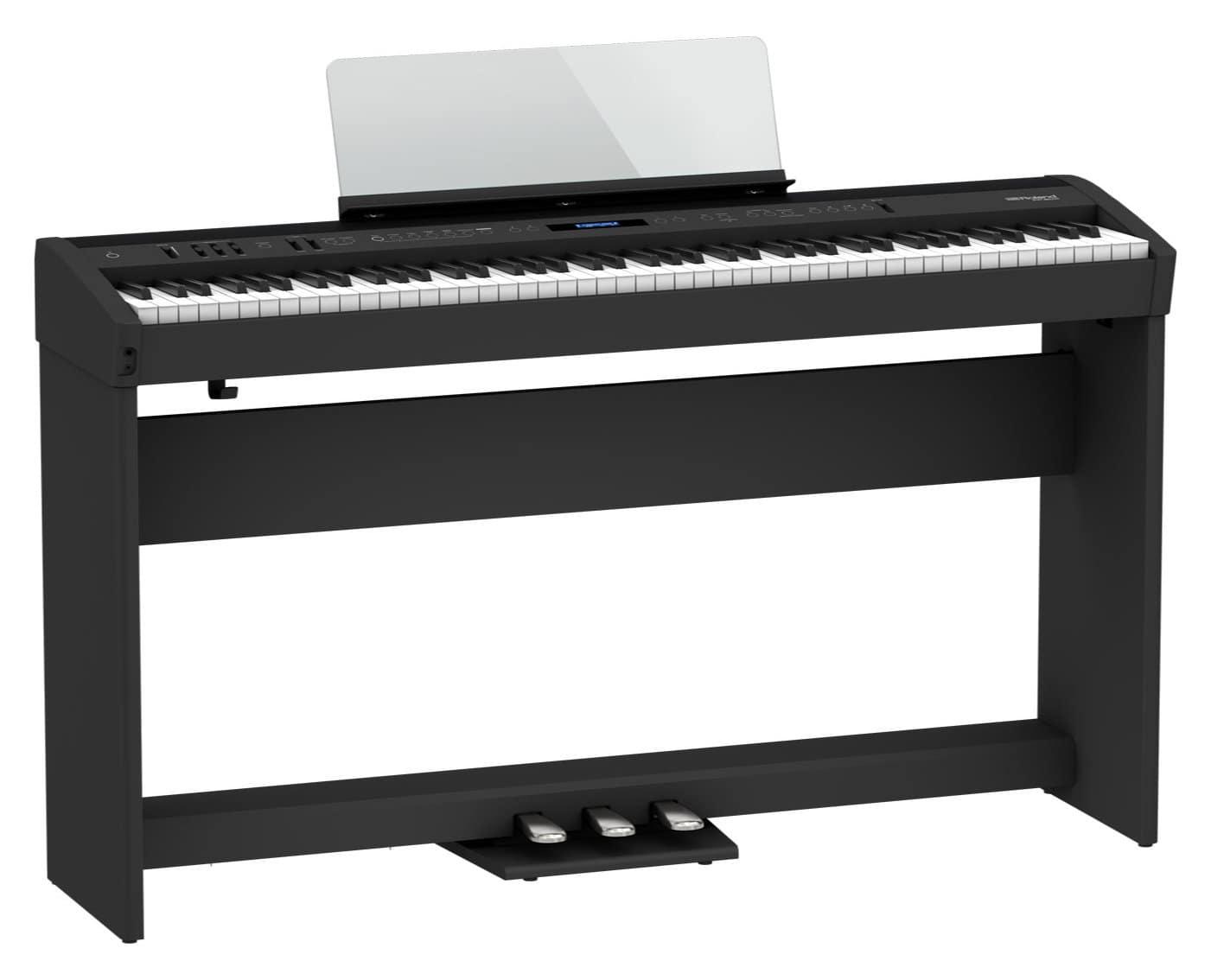 Digitalpianos - Roland FP 60X BK Stagepiano Set Schwarz - Onlineshop Musikhaus Kirstein