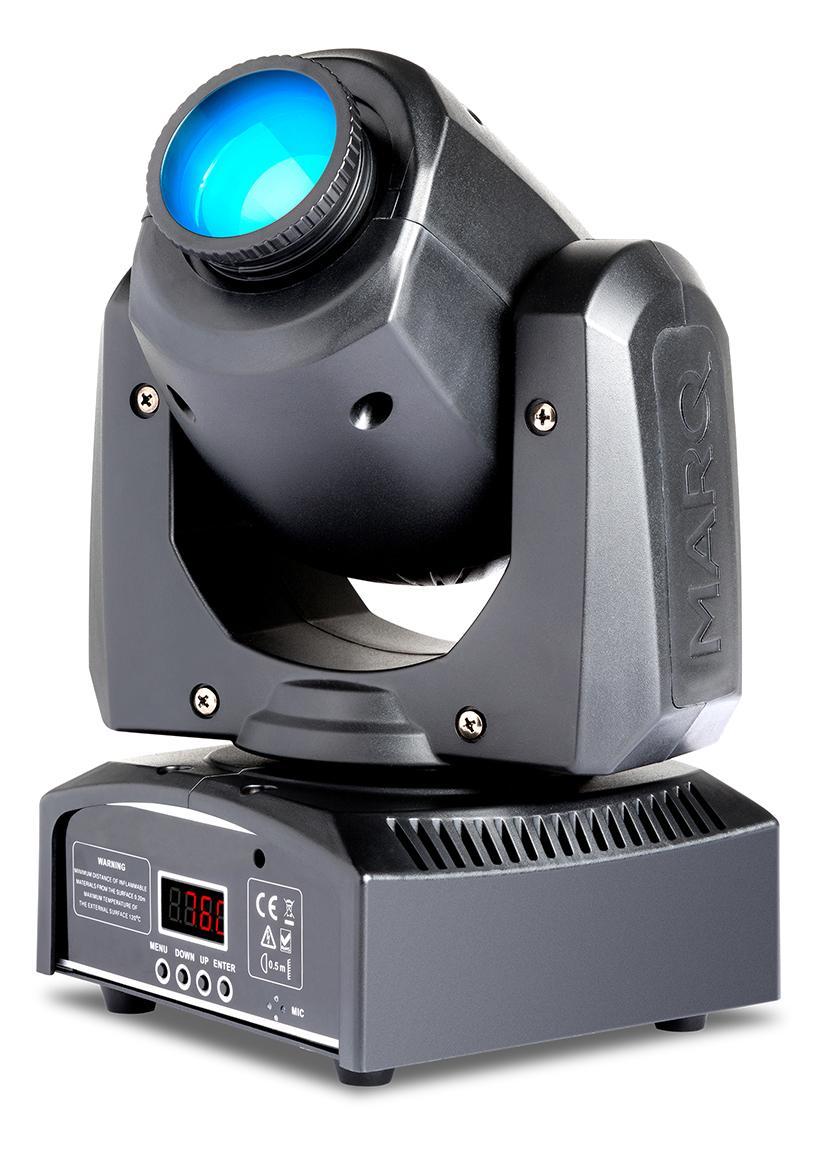 Marq Lighting Gesture Spot 100 LED Moving Head Spotlight