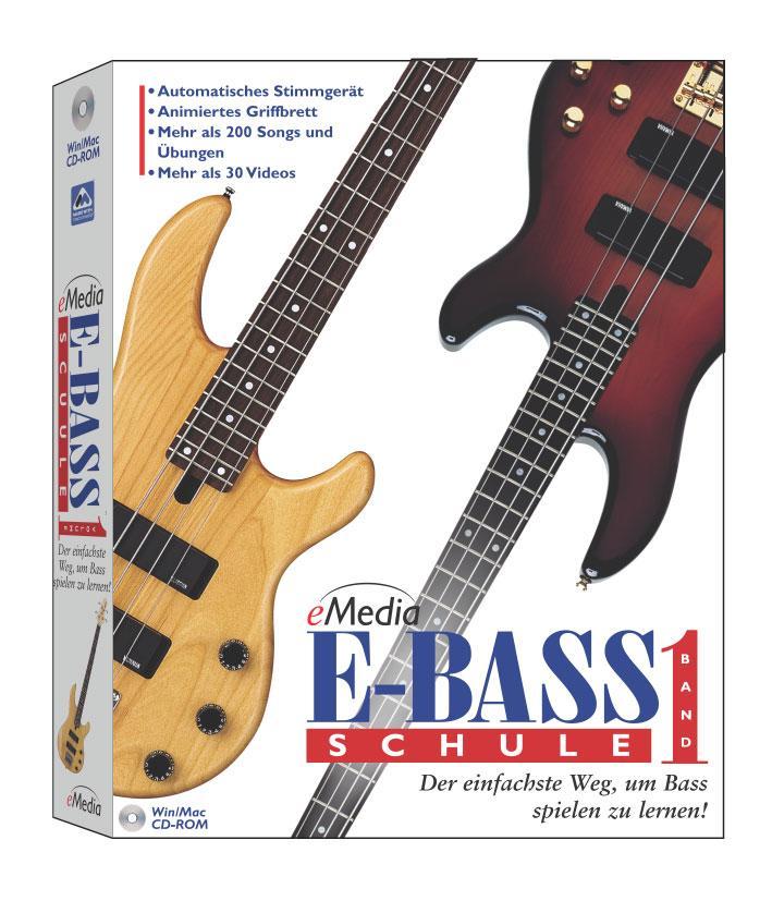 eMedia E Bass Schule, Vol. 1