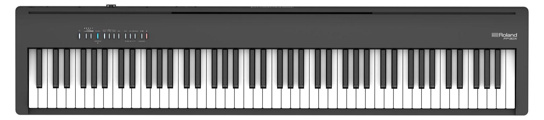 Stagepianos - Roland FP 30X BK Stagepiano Schwarz - Onlineshop Musikhaus Kirstein