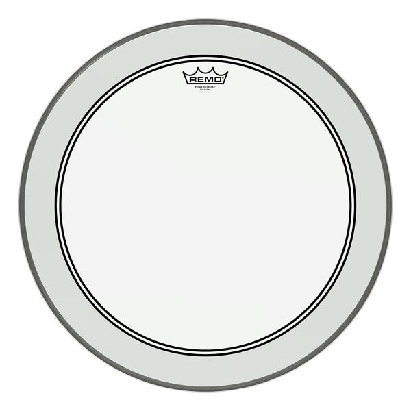 Remo 22' Powerstroke 3 Clear Bass Drum