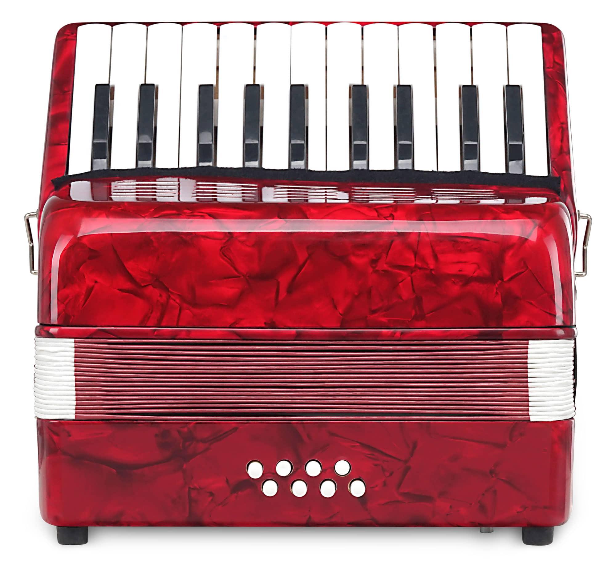 Classic Cantabile Secondo Kinder Akkordeon 8 Bass rot Retoure (Verpackungsschaden)