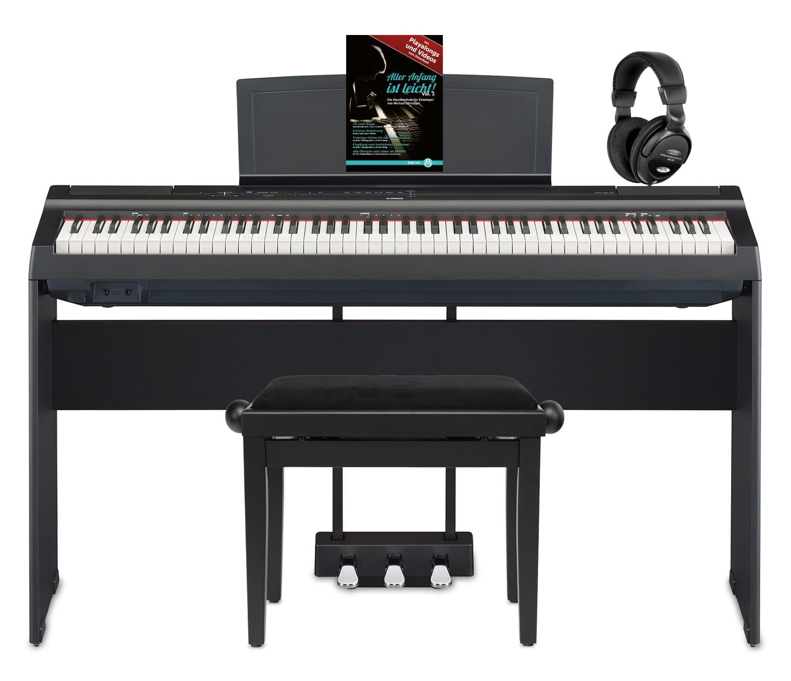 Yamaha P 125B Stage Piano Komplettset Schwarz