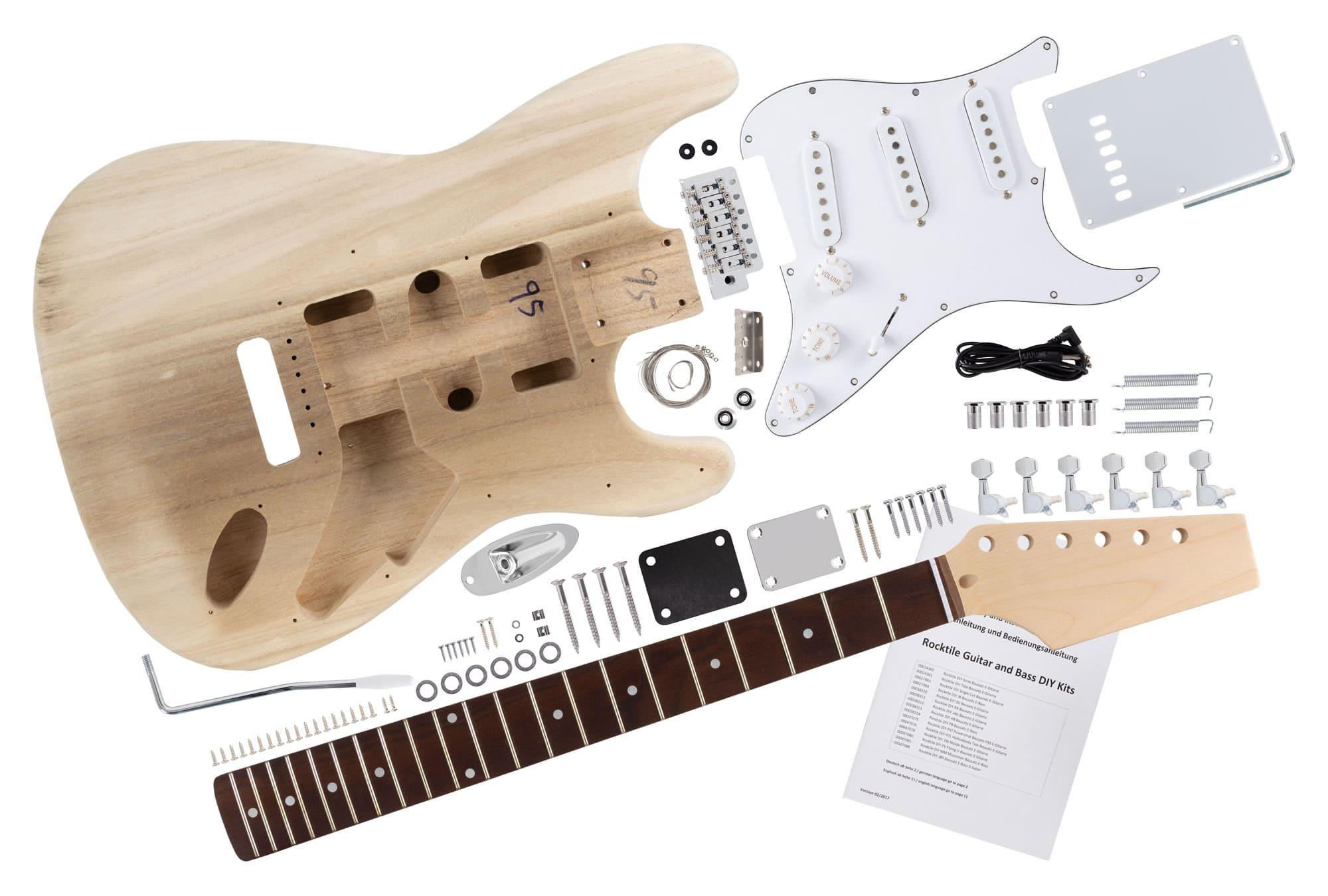 Rocktile E Gitarren Bausatz ST Style