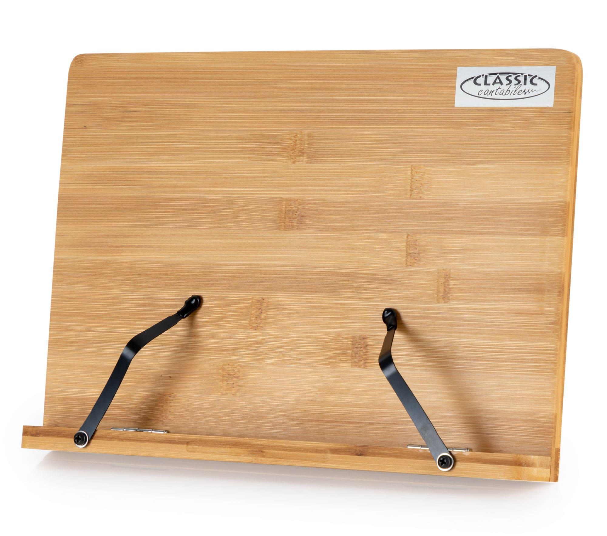 Musikerzubehoer - Classic Cantabile Tischnotenpult Bambus groß - Onlineshop Musikhaus Kirstein