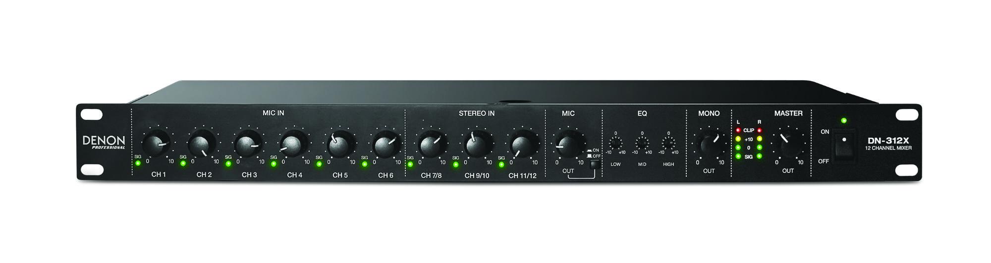 Mischpulte - Denon Professional DN 312X - Onlineshop Musikhaus Kirstein
