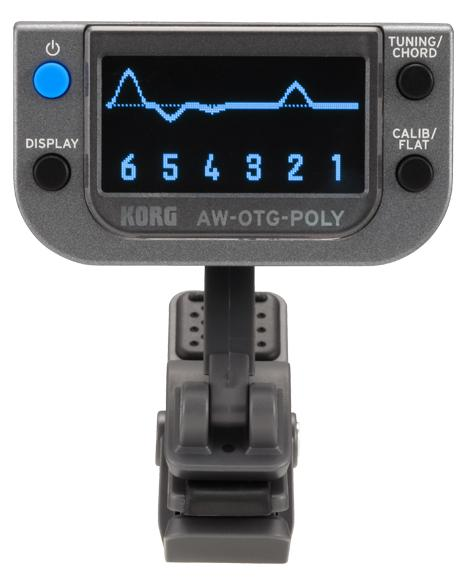 Korg AW OTG Poly Clip on Tuner