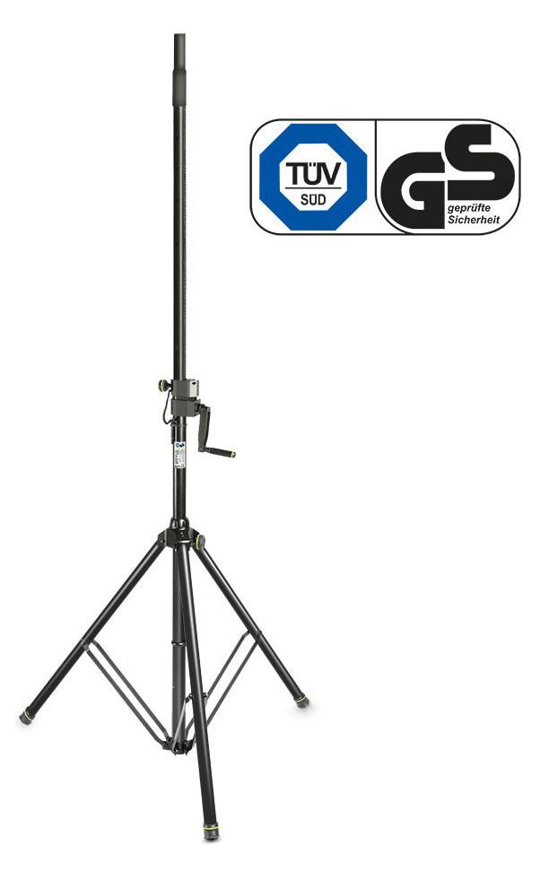 Gravity SP 4722 B Lautsprecher Kurbelstativ