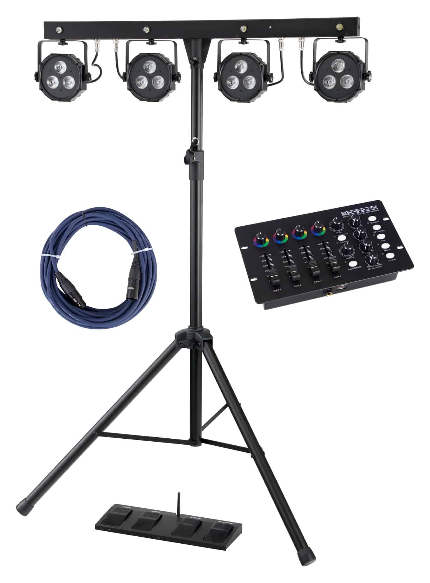 Showlite LB 4390 Komplettanlagen Set mit DMX Operator