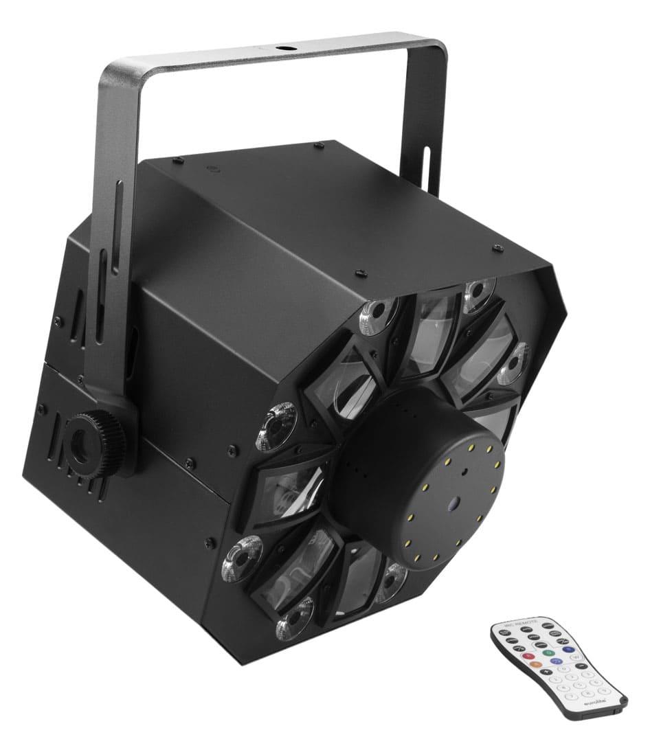 Lichteffekte - Eurolite LED FE 1750 Hybrid Laserflower - Onlineshop Musikhaus Kirstein